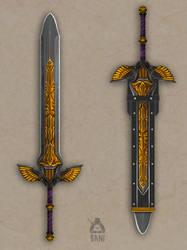 Heavenfall Great Sword