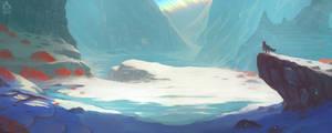 Vermilion Tundra by Banzz