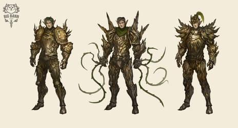 heavy wooden armor