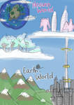 Map of Earth- and Heaven-World
