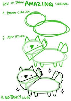 how to draw AMAZING shiborks