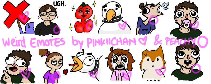 Discord Emotes - collab with Peachy