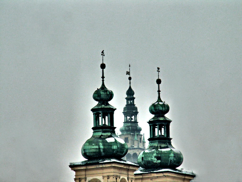 Three towers by Wanderlouve