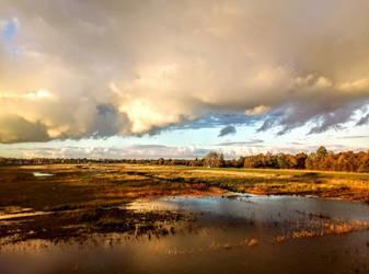 The sky is FALLing by Wanderlouve