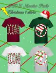 ICON Monster Christmas t-shirts