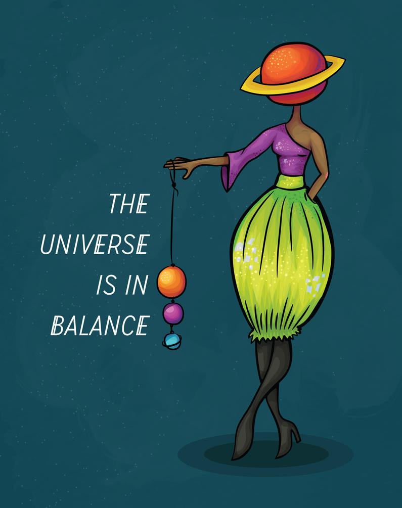 Spacecase: The Universe is in Balance by missKMC13