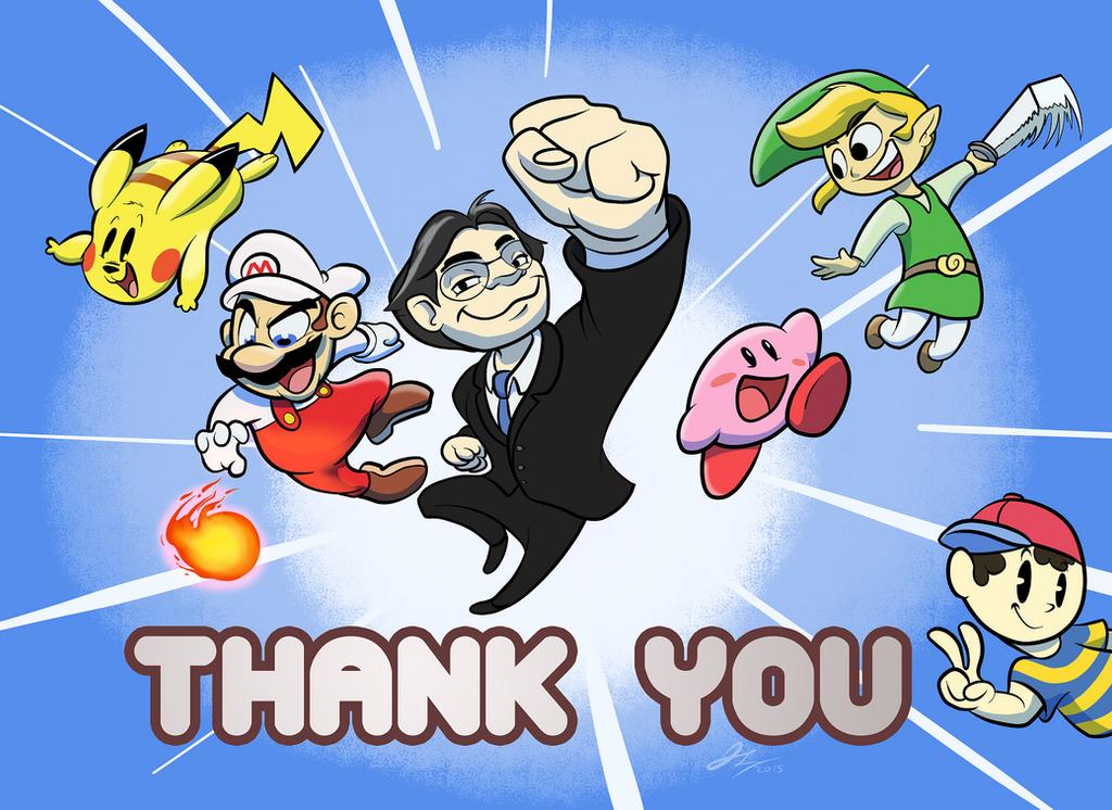 Satoru Iwata Tribute by JuiceTheObtuse
