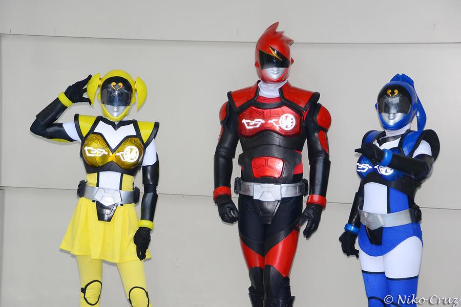 Akibaranger cosplay by nikocruz