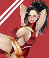 Momo  Boku no hero academia  by MiliLeonaOrochi