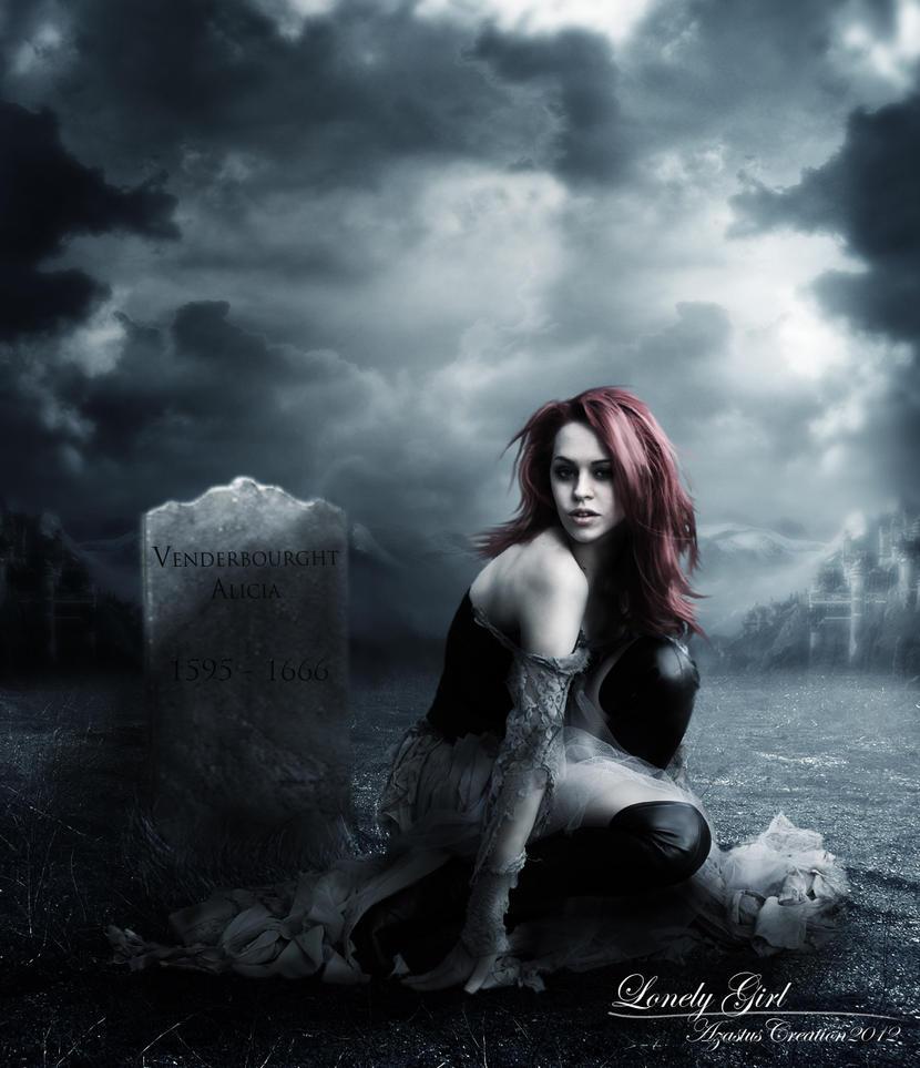 متوحشة هي ....!!!!! Lonely_girl_by_25clad35-d5823dq