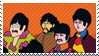 Yellow Submarine Stamp by TheStampQueen