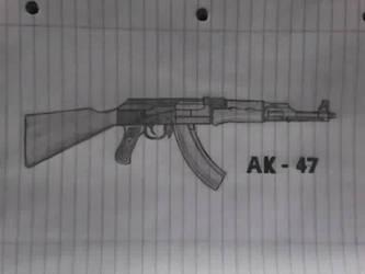 AK-47 by Kmoar