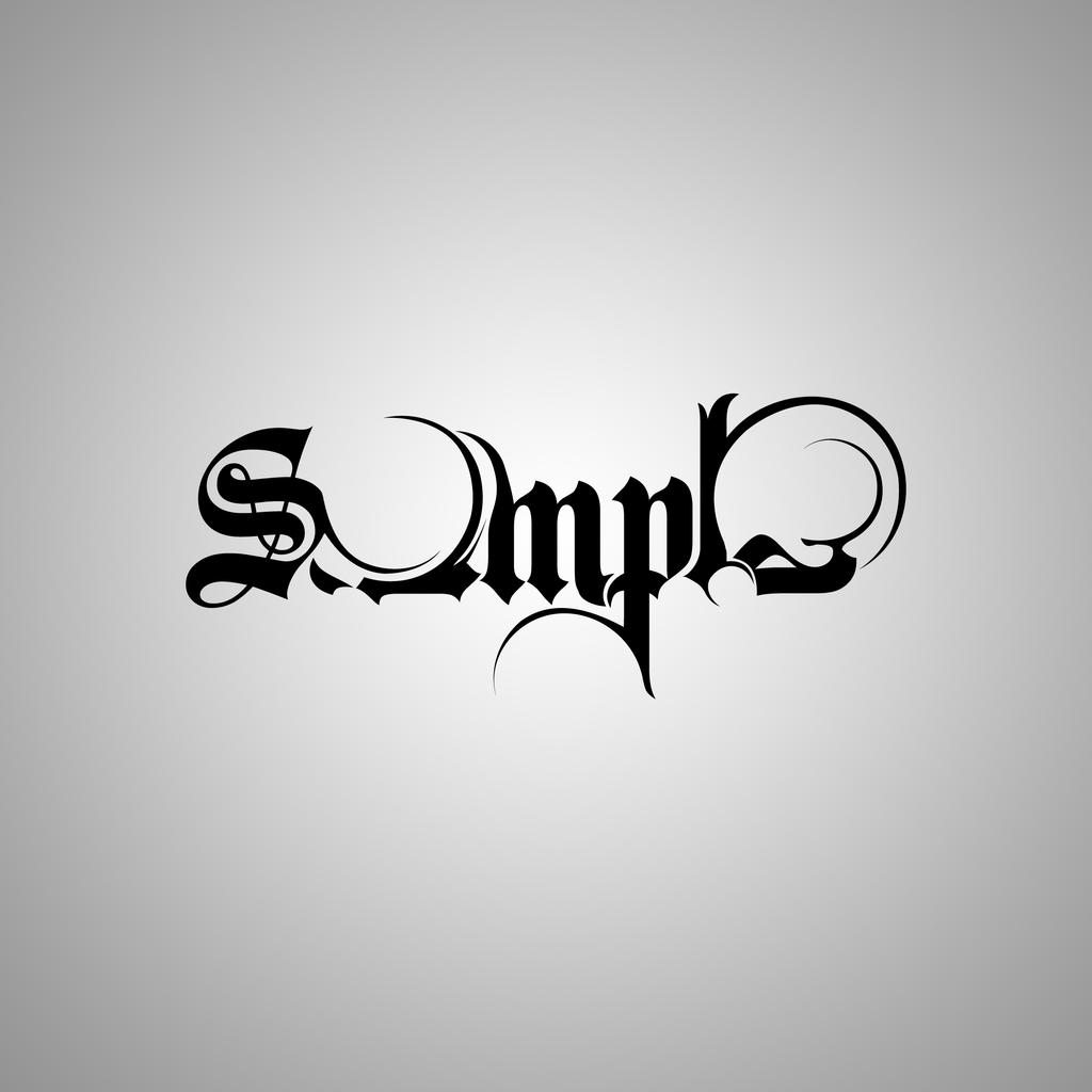 Calligraphy Simple By Amal Elhussiny On Deviantart
