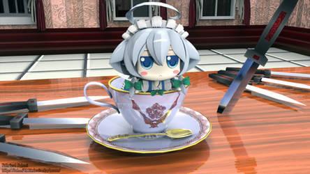 A Cup of Sakuya Inu by fahmi4869