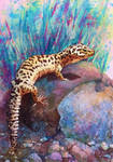 Commission: Skid the Leopard Gecko