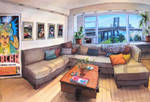 Commission: Magic in a NYC Apartment