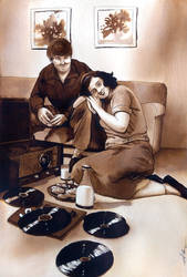 Commission: Life in the 1950s