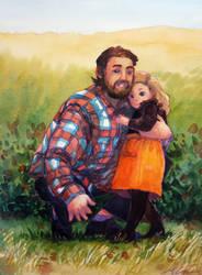 Commission: The Hug