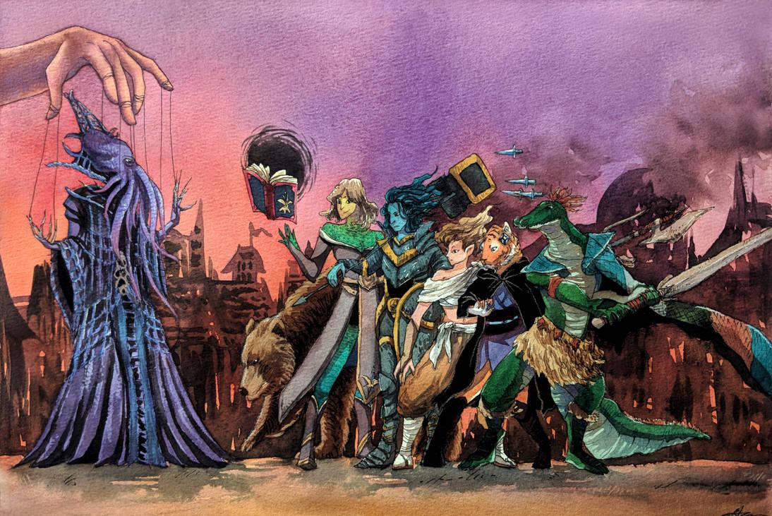 Commission: Final Battle (DnD)