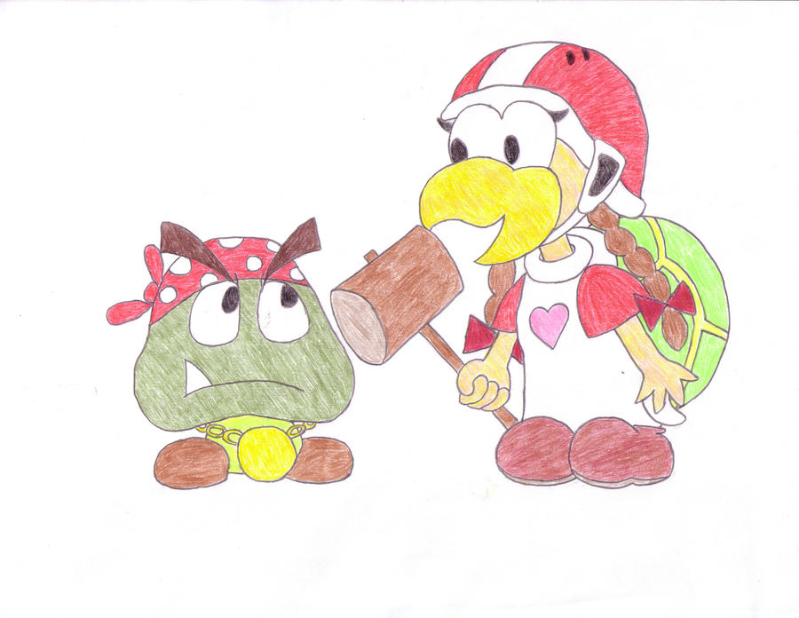 Goomblaine and Hanner by SlargTheGnome