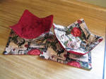 Rooster Bowl Cozies and Mug Rugs