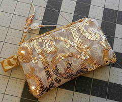 Glam Pouch :-) by HappyHermitSoap
