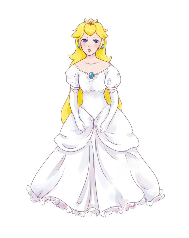 sexy princess peach having sex