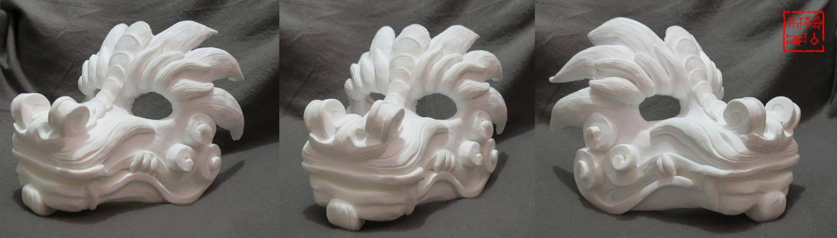 Dragon Mask First Cast by Coeurlregina
