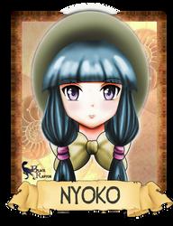 Fate stay night OC Nyoko by CheshireMalice