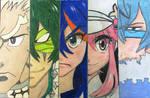 Ryuko vs The Elite Four