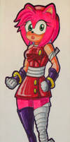 Amy Rose (Sonic Boom Look)