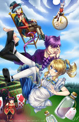 Alice in Wonderland by MagicalSakura