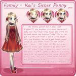Family: Kai's Sister chara sheet