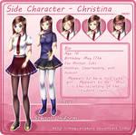 SideCharacter: Christina Chara Sheet