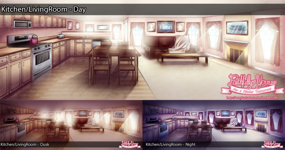 Fy Background Kitchen Living Room By Magicalsakura On Deviantart