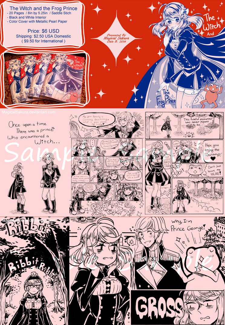 The Witch and The Frog Prince Zine by MagicalSakura