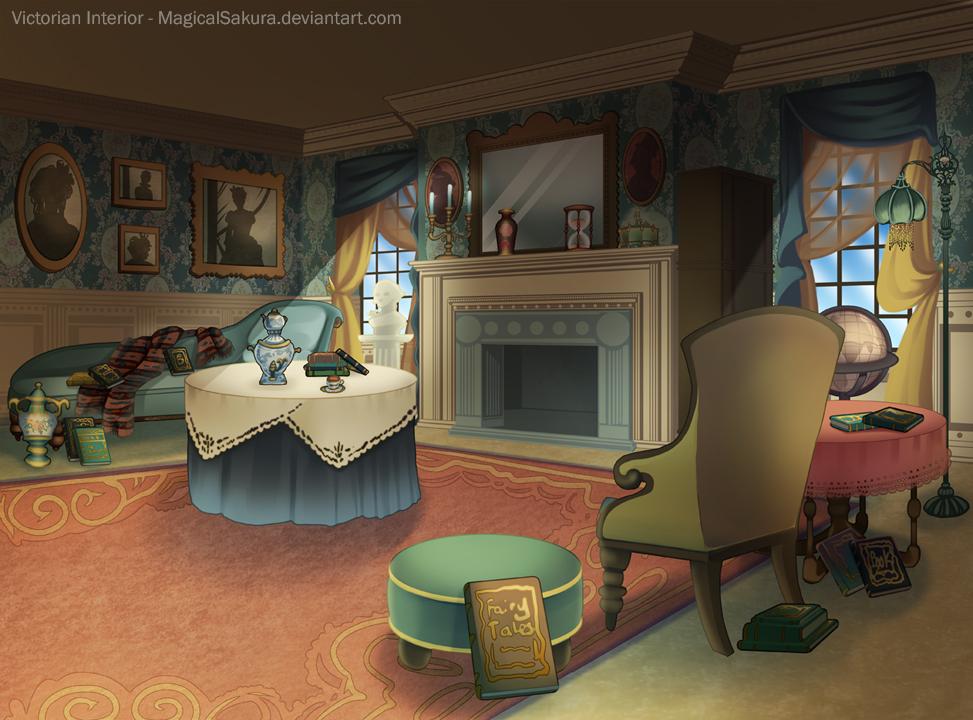 Victorian Interior by MagicalSakura