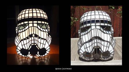Stormtrooper Helmet (lamp)- front
