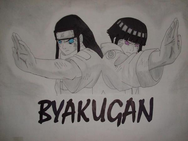 Neji and Hinatas Byakugan by NaruNeji on DeviantArt