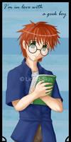 Colin::geeky boy bookmark 1