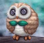 Realistic Rowlet