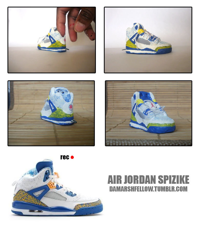 Air jordan Spizike by tharealdada