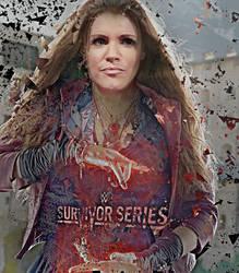 Survivor Series Stephanie Poster WWE Universe by eyiyureklidaryl