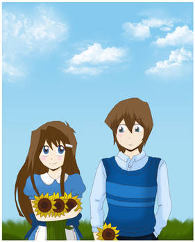 Picking flowers with you