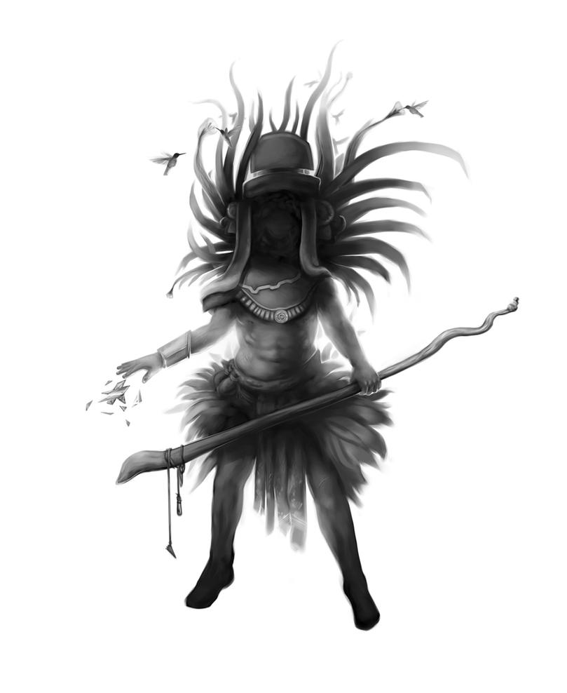 aztec god of war by SebastianWagner on DeviantArt