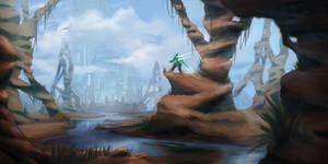 desert - sci fi environment