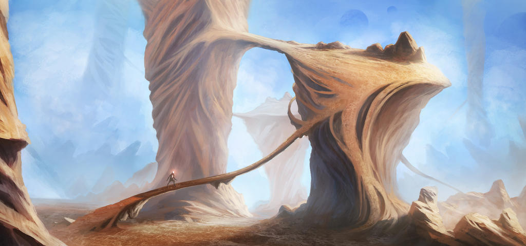 strange canyon by SebastianWagner