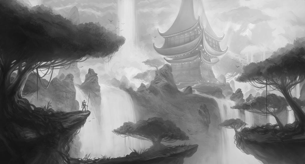 sacred temple by SebastianWagner