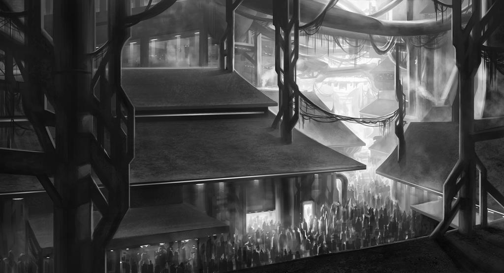 street scene by SebastianWagner