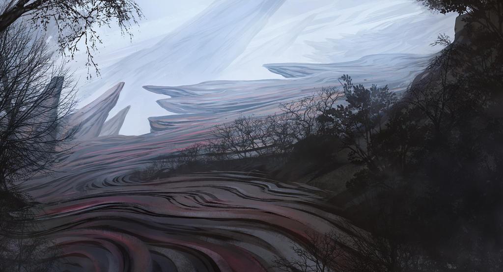 alien planet landscape by SebastianWagner on DeviantArt